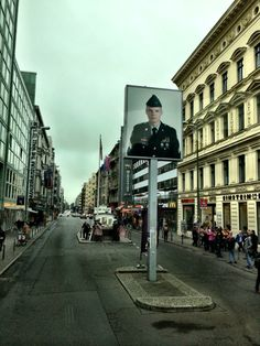 Checkpoint Charlie. Berlin, Germany. September 2014.