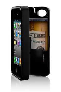 EYN Case for iPhone 4 & 4S (Holds Money, Cards, Keys, iPhone)