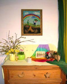 Jahreszeitentisch im April  http://astridpomaska.blogspot.de/