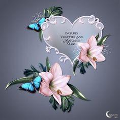 Moonbeam's Winter Bouquet (FS/CU) [Moonbeam's Winter Bouquet] : Scrap and Tubes Store, Digital Scrapbooking Supplies