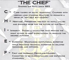 The CHIEF!