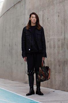 On the street... Sungchan Kim fashion week 2015 S/S ~ echeveau