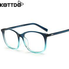 b93602bd50d KOTTDO 2017 Fashion Women Clear Lens Eyewear New Luxury Brand Designer Men  Women Eyeglasses Frames Women s