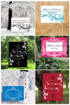 Wedding Signs Say So Much
