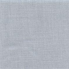 1 YD Piece Mountain View Sky Blue Herringbone Linen look Drapery Fabric by Swavelle Mill Creek Fabrics