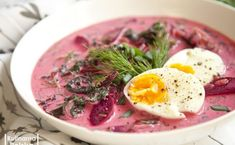 Jedyna polska zupa, która ma być zimna. Robimy chłodnik Smoothie Recipes, Ramen, Eggs, Healthy Recipes, Breakfast, Ethnic Recipes, Kitchen, Food, Inspiration