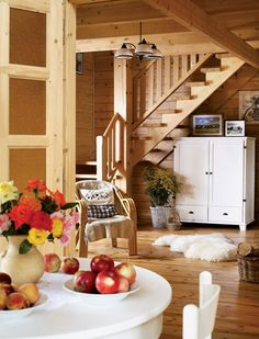 Adorable wooden cottage in Poland