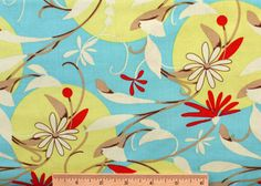 Felicity Miller Gypsy Full Moon fabric FM31 Sky by 1cottonking