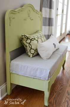 Bed Turned Bench