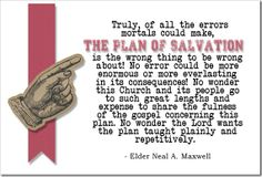Latter-day Homeschooling Links for The Plan of Salvation Resources! Salvation Quotes, Salvation Scriptures, Plan Of Salvation, Fhe Lessons, Object Lessons, Lds Quotes, Uplifting Quotes, Lds Apostles, Mormon Messages