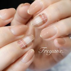 Nail Polish Designs, Nail Designs, Korean Nails, Ulzzang Fashion, Trendy Nails, Manicure And Pedicure, Nail Inspo, Swag Nails, Wedding Nails