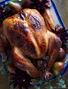 Sweet Paul Magazine - Holiday 2010 - Maple and Apricot Roasted Turkey.  Sounds very yummy.  Bet the gravy is to die for.