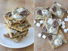 Graham Cracker S'mores Cookies {Recipe} - Glorious Treats
