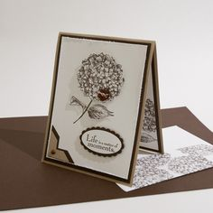 pinterest stampin up ideas | Stampin Up Early Espresso Flower photo