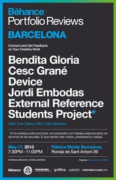 Behance Portafolio Reviews Barcelona