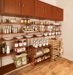 Pantry Organization - kitchen - cincinnati - Organized Living