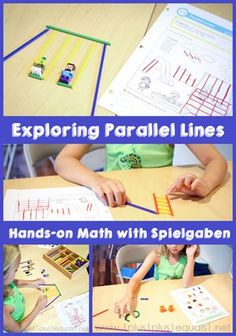 Extending Math Curriculum with Spielgaben ~ Exploring Parallel Lines