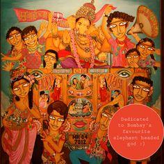 Illustration Art, Illustrations, Indian Artist, Nature Tree, Artworks, Campaign, Elephant, Paintings, Graphic Design