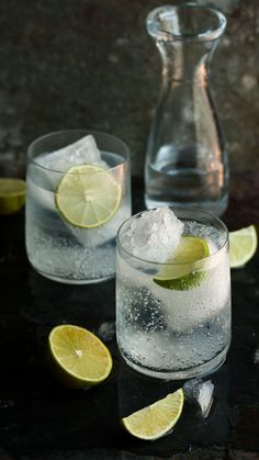 How to make the best gin and tonic | Drizzle & Dip. Tonic ice cubes...yes!