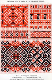 FolkCostume&Embroidery: Red sleeve embroidery of the Sniatyn district, Pokuttia, Ukraine Hungarian Embroidery, Folk Embroidery, Cross Stitch Embroidery, Embroidery Patterns, White Embroidery, Cross Stitch Borders, Cross Stitch Charts, Cross Stitching, Cross Stitch Patterns