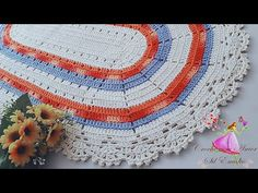Meus tapetes de crochê Doçura by Sil Emídio Crochê com Amor - YouTube