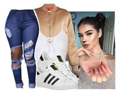 """#lastminutecostume"" by eazybreezy305 ❤ liked on Polyvore featuring Givenchy, adidas Originals, halloweencostume and lastminutecostume"