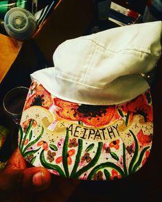 #roses #art #love #custom #hats