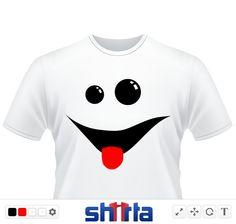 No one can resist this charming smile! (Augen, Zunge, Mund, Lachen, Blick, Lustig)
