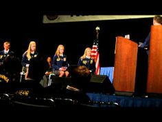 Meridian FFA Chapter Parliamentary Procedure At 2012 National FFA Convention (Part 1) - YouTube