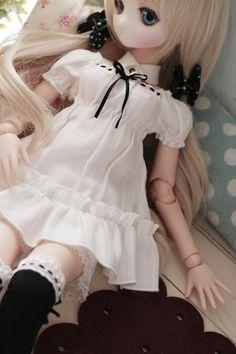 DOLCHU - DDH-01カスタムヘッド(難有)+MDDミニハット付ドレス、他