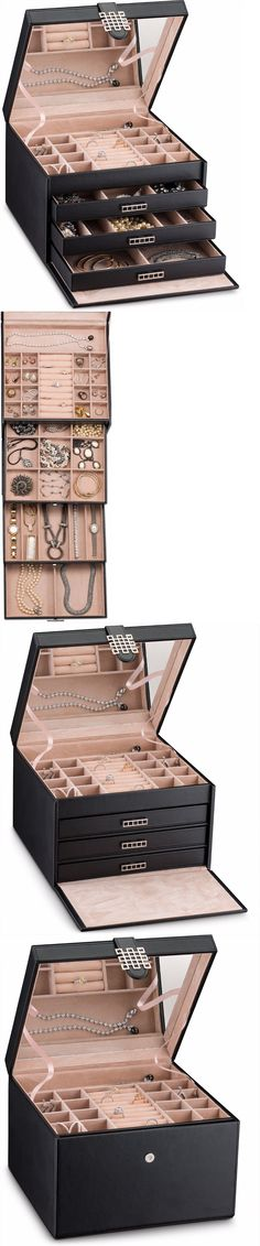 Earring 168161 Earring Organizer Holder 50 Slot Jewelry Box Case