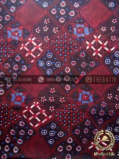 Kain Batik Tulis Jogja Motif Sekar Jagad Latar Hitam | Indonesian Batik Fabric Design Pattern http://thebatik.co.id/kain-batik-bahan/