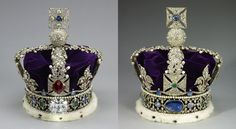 The crown was made in 1937 for King George VI's coronation. The Crown includes lots of jewels including 2,868 diamonds, 273 pearls, 17 sapphires, 11 emeralds, and five rubies.