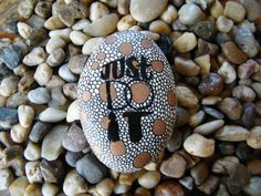 Just Do It / Painted Rock Art / Hand Painted by PonderingPebbles