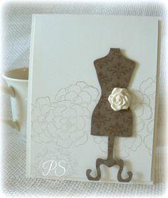 Stampsnsmiles: Vintage Dress Form