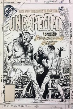 Original covers by Joe Kubert