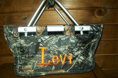 personalized Easter basket/market tote available with free shipping for $30 at www.personalizeyouritems.com