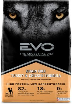Grain free.  Hi protein, low carb food.  Cancer feeds on sugar.  This is hands down the best you can give your dog without cooking yourself.