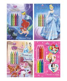 Look at this #zulilyfind! Disney Princess Animal Lover Coloring Paperback Set by Random House #zulilyfinds