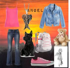 """""""Maximum Ride: Angel Inspired"""" by amelia-328 on Polyvore"""