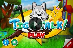 Tiga Talk | Tiga Talk Speech Therapy Games – A fun iPhone, iPad, and iPod Touch App that improves speaking clarity and confidence with playful voice-controlled games