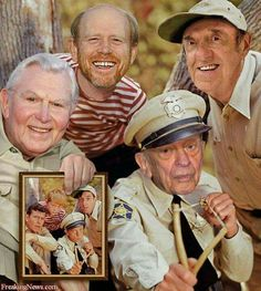 Wow MAYBERRY, THEN AN NOW