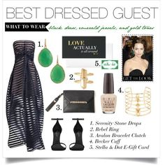 Our accessories will definitely make you the best dressed guest at this black tie Soiree. #Stellabrate with Stella & Dot.  Use the link in my profile to shop this look!  www.stelladot.com/sarahtaliaferro