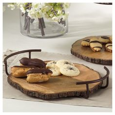 Wood Serving Tray - 14W, Natural