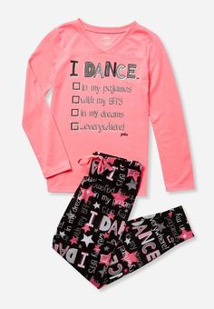 0d8372ad2 Justice is your one-stop-shop for on-trend styles in tween girls clothing &  accessories. Shop our Dance Pajama Set - MOOS.