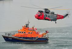 CULDROSE SAR Squadren at the National Maritime Mueseum. Picture:POA(Phot) Paul A'Barrow