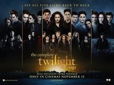 The Entire Twilight Saga - Totally wanting to take the day off work for this. Would be worth it!