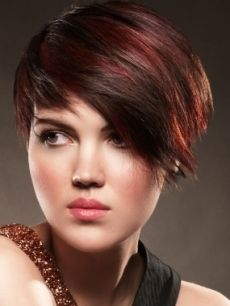 296 Best Red Highlights Images In 2019 Hair Coloring Hairstyle