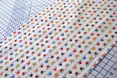 Japanese Elephant Fabric from thisandthatfromjapan on Etsy: Gorgeous!