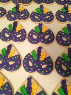masquerade cookies Heart Cutter